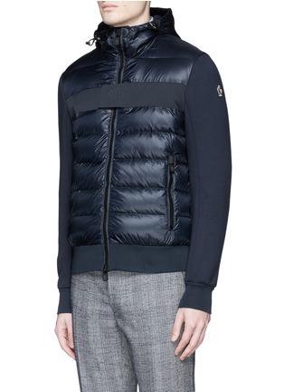 正面 -点击放大 - Moncler Grenoble - Quilted down front bonded jersey jacket