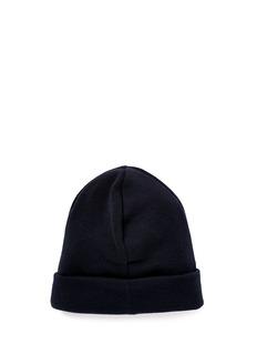 Moncler Capsule Logo appliqué virgin wool beanie