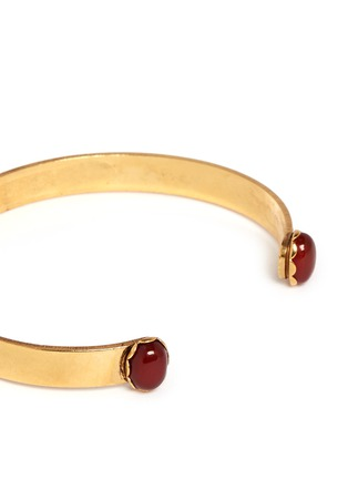 Detail View - Click To Enlarge - Ela Stone - Liad' stone adjustable cuff