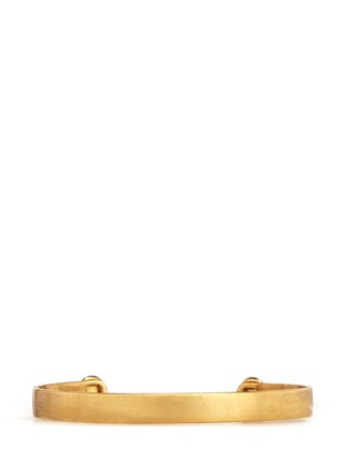 Back View - Click To Enlarge - Ela Stone - Liad' stone adjustable cuff