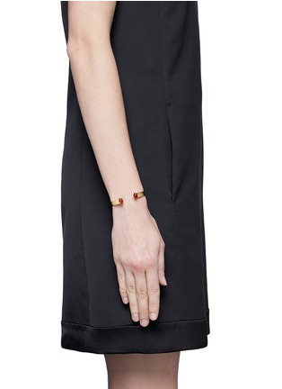 Figure View - Click To Enlarge - Ela Stone - Liad' stone adjustable cuff