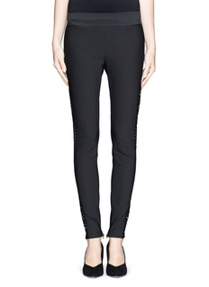 STELLA MCCARTNEY Lace side stretch pants