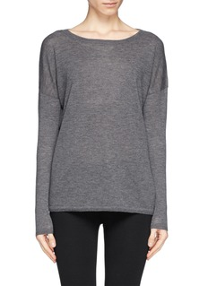 VINCE Featherweight wool-cashmere sweater