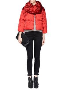 ARMANI COLLEZIONIDetachable collar down jacket