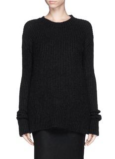 HAIDER ACKERMANN'Vigari' rib knit sweater