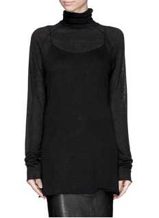HAIDER ACKERMANN'Sforza' fine knit turtleneck sweater