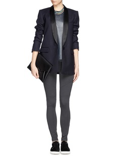 VINCE Stretch ribbed skinny pants