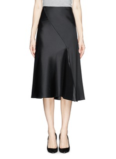 THE ROW 'Agra' front slit flare skirt