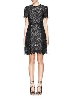 ERDEM'Aubrey' floral lace dress