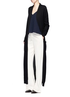 MAIYETTie waist cashmere maxi cardigan