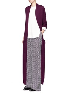 MAIYETTie waist cashmere knit maxi cardigan