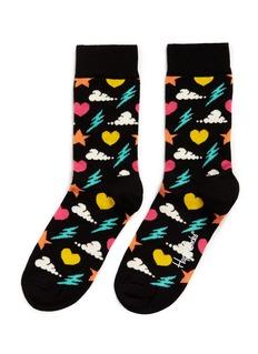 Happy Socks'Storm' icon socks