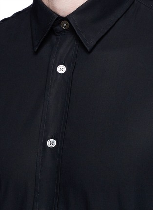 Detail View - Click To Enlarge - Acne Studios - 'Jeffrey' cotton poplin shirt