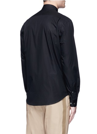 Back View - Click To Enlarge - Acne Studios - 'Jeffrey' cotton poplin shirt