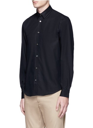 Front View - Click To Enlarge - Acne Studios - 'Jeffrey' cotton poplin shirt