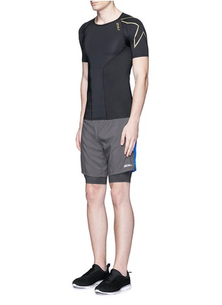2Xu - 'Elite Compression' performance short sleeve top