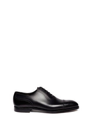 Main View - Click To Enlarge - George Cleverley - 'Adam' leather brogue Oxfords
