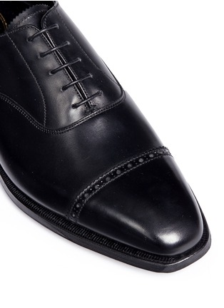 George Cleverley - 'Charles' leather Oxfords