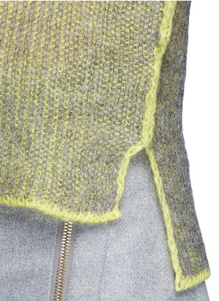 Detail View - Click To Enlarge - Acne Studios - 'Vasya' mohair blend turtleneck sweater