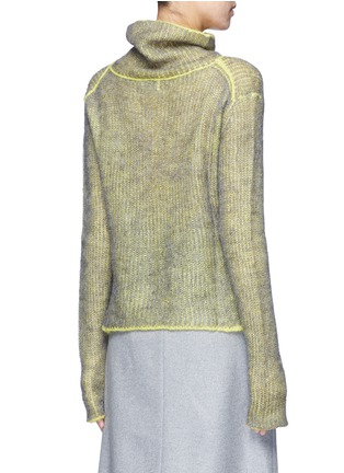 Back View - Click To Enlarge - Acne Studios - 'Vasya' mohair blend turtleneck sweater