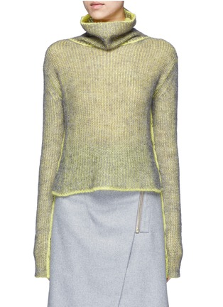 Main View - Click To Enlarge - Acne Studios - 'Vasya' mohair blend turtleneck sweater