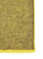 'Via 2 Face' contrast colour long knit scarf