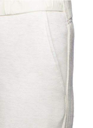 Sacai - Wool-cashmere knit back jogging pants