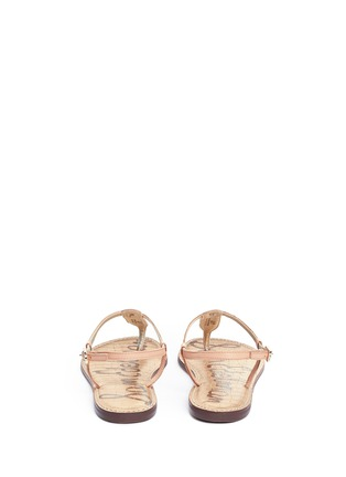 Back View - Click To Enlarge - Sam Edelman - 'Gigi' leather T-strap sandals