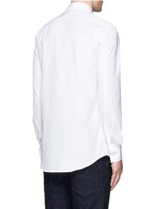 Back View - Click To Enlarge - Neil Barrett - Cotton poplin shirt