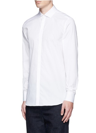 Front View - Click To Enlarge - Neil Barrett - Cotton poplin shirt