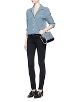 'Legging' stretch twill pants