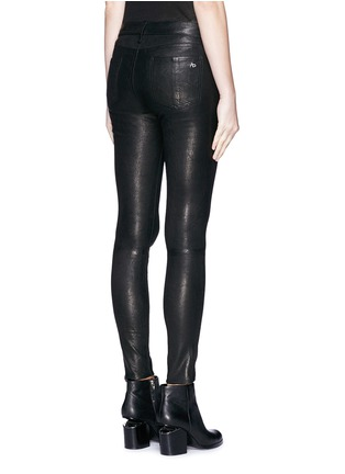 Back View - Click To Enlarge - rag & bone/JEAN - 'Skinny' leather pants