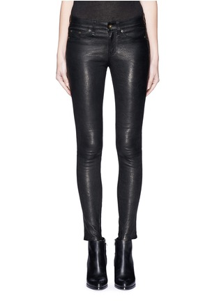 Main View - Click To Enlarge - rag & bone/JEAN - 'Skinny' leather pants