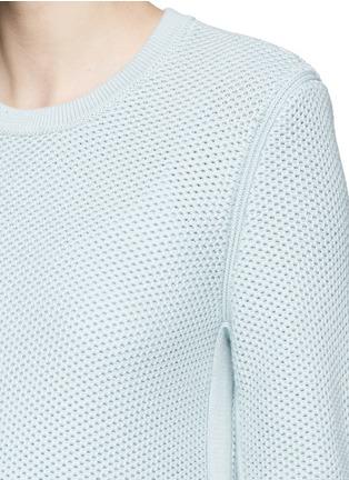 Detail View - Click To Enlarge - rag & bone/JEAN - 'Rita' honeycomb knit boyfriend sweater