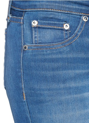 Detail View - Click To Enlarge - rag & bone/JEAN - 'Skinny' stretch denim jeans