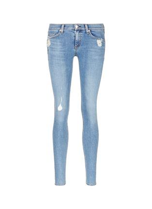Main View - Click To Enlarge - rag & bone/JEAN - 'Skinny' distressed jeans