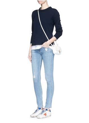 Figure View - Click To Enlarge - rag & bone/JEAN - 'Skinny' distressed jeans