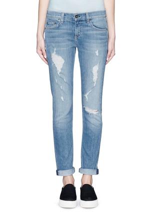 Detail View - Click To Enlarge - rag & bone/JEAN - 'The Dre' boyfriend skinny jeans