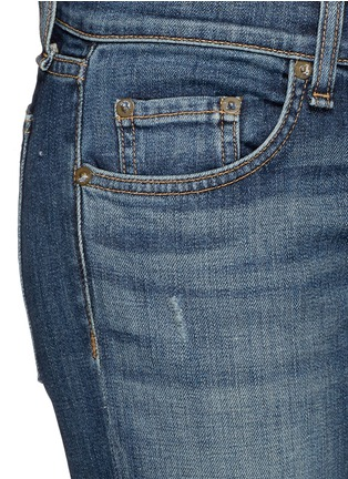 Detail View - Click To Enlarge - rag & bone/JEAN - 'Tomboy' slim fit jeans