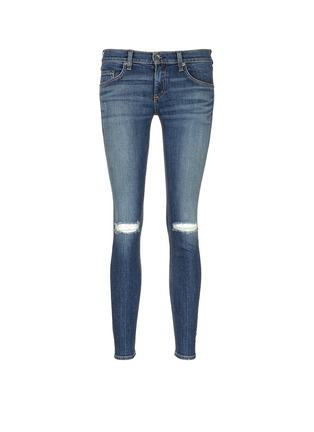 Main View - Click To Enlarge - rag & bone/JEAN - 'Tomboy' slim fit jeans