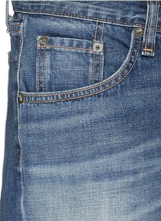 Detail View - Click To Enlarge - rag & bone/JEAN - 'Boyfriend' cutoff denim shorts
