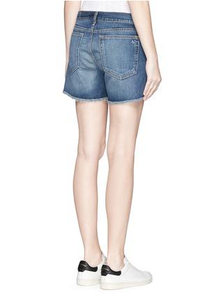 Back View - Click To Enlarge - rag & bone/JEAN - 'Boyfriend' cutoff denim shorts