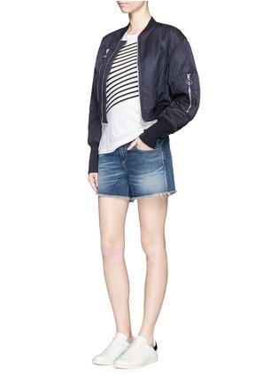 Figure View - Click To Enlarge - rag & bone/JEAN - 'Boyfriend' cutoff denim shorts