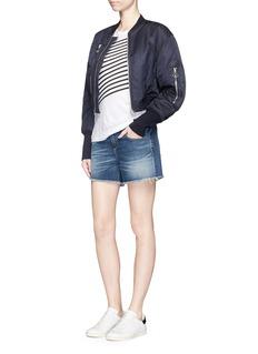 RAG & BONE/JEAN'Boyfriend' cutoff denim shorts