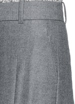 Collection ultra-wide-leg pant in Italian wool