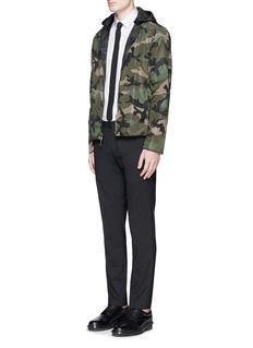Valentino Reversible camouflage print windbreaker jacket