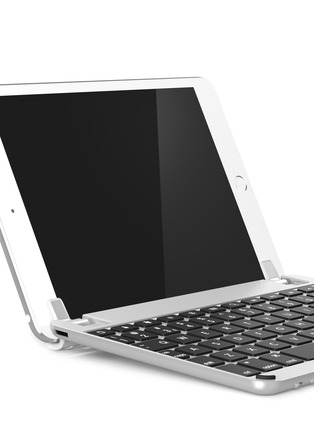 Detail View - Click To Enlarge - Brydge - BrydgeMini iPad mini keyboard - Silver