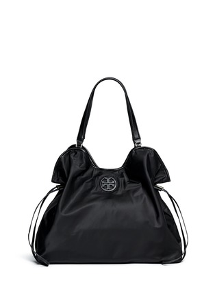Main View - Click To Enlarge - Tory Burch - Drawstring nylon tote
