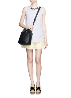 TORY BURCH'Brodie' leather bucket bag