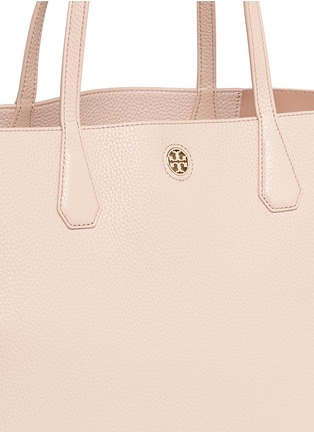 Detail View - Click To Enlarge - Tory Burch - 'Perry' grainy leather tote